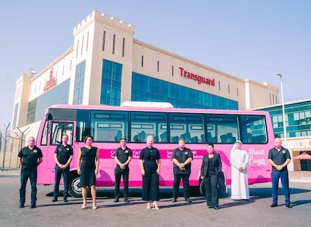 Transguard's Pink Bus is Back!