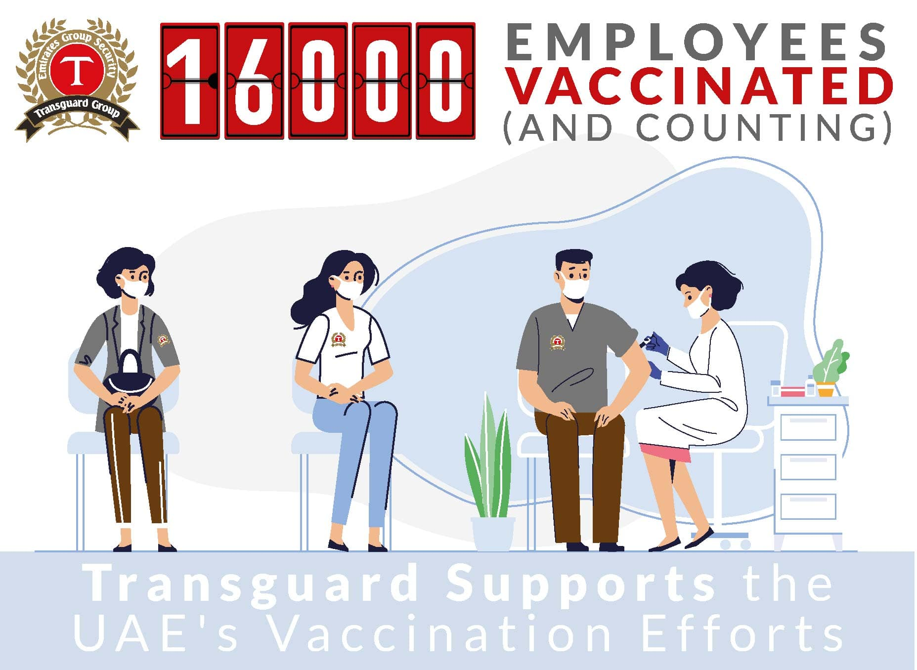 Transguard Group Vaccinates 16,000 Employees